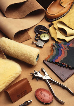 Modern leather-working tools