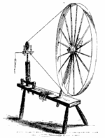 Illustration of a great wheel.
